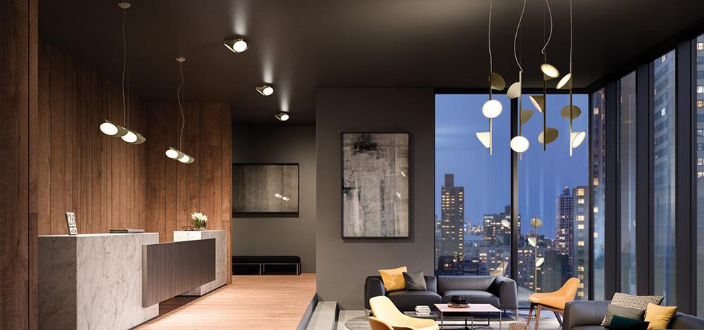 axo light lampe au plafond orchid led blanc aluminium. Black Bedroom Furniture Sets. Home Design Ideas