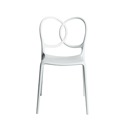DRIADE set of 4 outdoor chairs SISSI