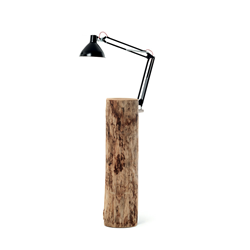 MOGG table basse avec lampe PIANTAMA