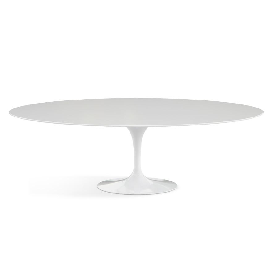 knoll table ovale tulip collection eero saarinen 244x137. Black Bedroom Furniture Sets. Home Design Ideas