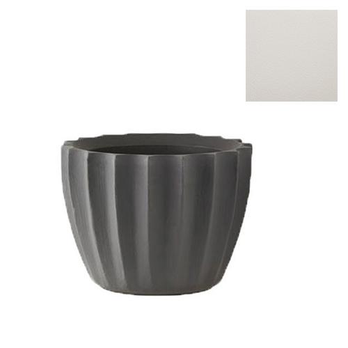 Slide vase star h 40 cm blanc lait poly thyl ne for Table exterieur 40 cm