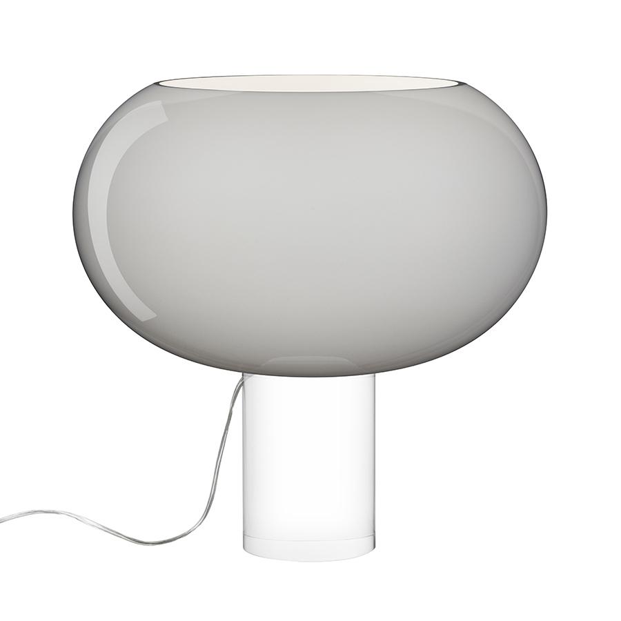 FOSCARINI lampe de table BUDS 2 (Gris - verre soufflé et PMMA)