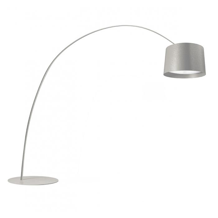 FOSCARINI floor lamp TWICE AS TWIGGY (Greige - Fibra di vetro ...