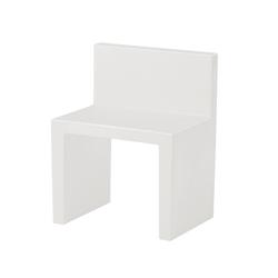 SLIDE set de 2 chaises ANGOLO RETTO (Noir Polyéthylène