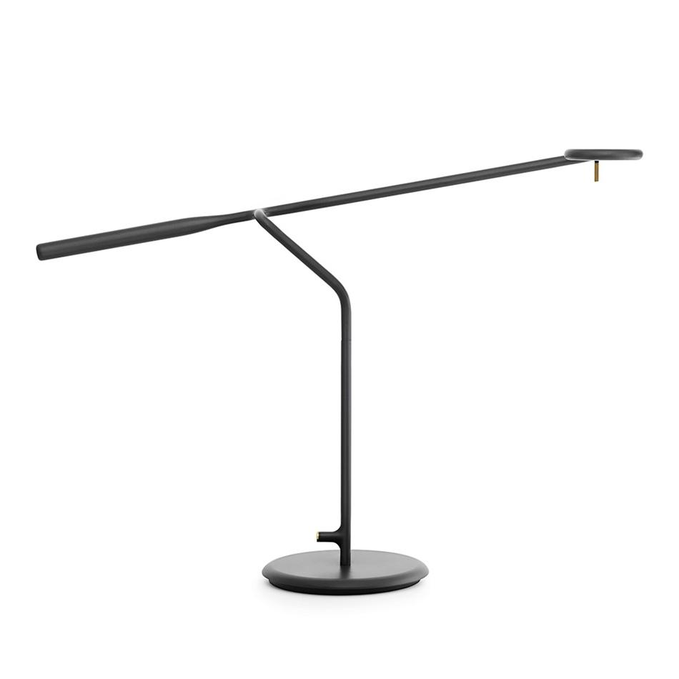normann copenhagen lampe de table flow noir m tal verni. Black Bedroom Furniture Sets. Home Design Ideas