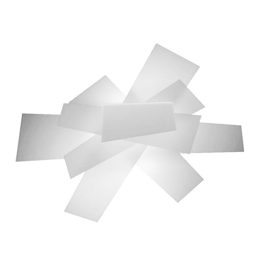 foscarini lampe murale applique ou plafond big bang blanc. Black Bedroom Furniture Sets. Home Design Ideas