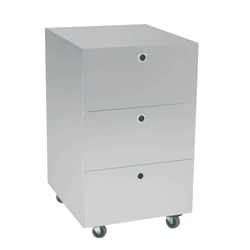 KRIPTONITE container on wheels with 3 drawers W 40 cm