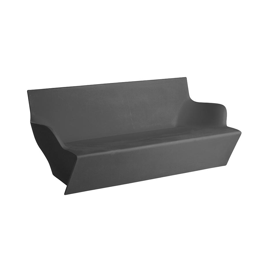 Slide canap pour ext rieur kami yon l phant gris for Canape exterieur gris