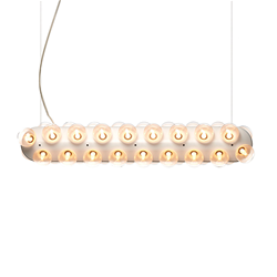 MOOOI lampe à suspension PROP LIGHT DOUBLE HORIZONTAL
