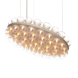 MOOOI lampe à suspension PROP LIGHT ROUND DOUBLE