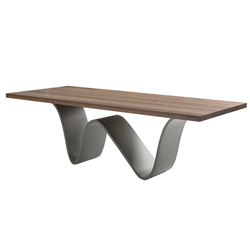 RIVA 1920 table rectangulaire BREE E ONDA