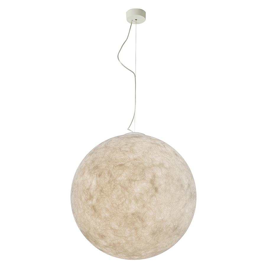 in es artdesign lampe suspension luna 70 cm laprene acciaio e nebulite. Black Bedroom Furniture Sets. Home Design Ideas