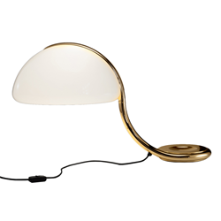 MARTINELLI LUCE lampe de table SERPENTE
