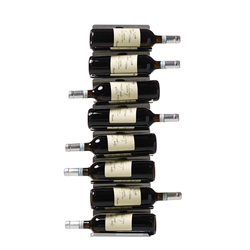 OPINION CIATTI vertical wall bottle holder PTOLOMEO VINO WALL H 75 cm