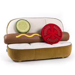 SELETTI canapé rembourré HOT DOG