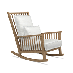 GERVASONI outdoor rocking armchair INOUT 709 S