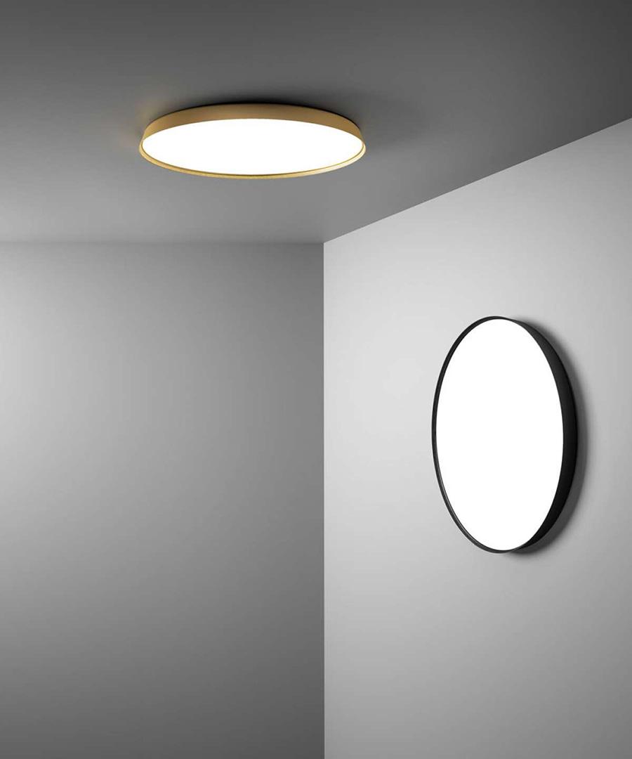 Luceplan Lampe Murale Applique Plafonnier Compendium Plate D81p