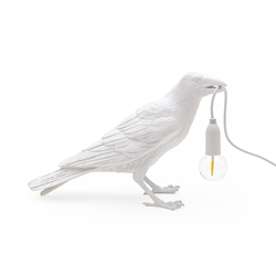 SELETTI lampe de table BIRD LAMP WAITING à LED
