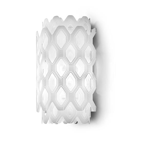 SLAMP lampe murale applique CHARLOTTE APPLIQUE (White - Cristalflex® / Lentiflex®)