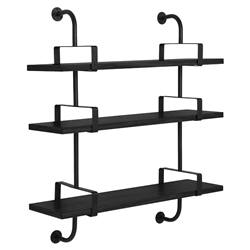 GUBI wall bookcase DEMON SHELF 3 shelves W 95 cm Matégot Collection