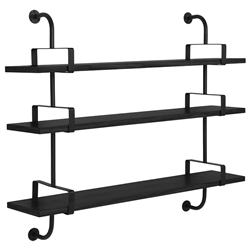 GUBI wall bookcase DEMON SHELF 3 shelves W 155 cm Matégot Collection
