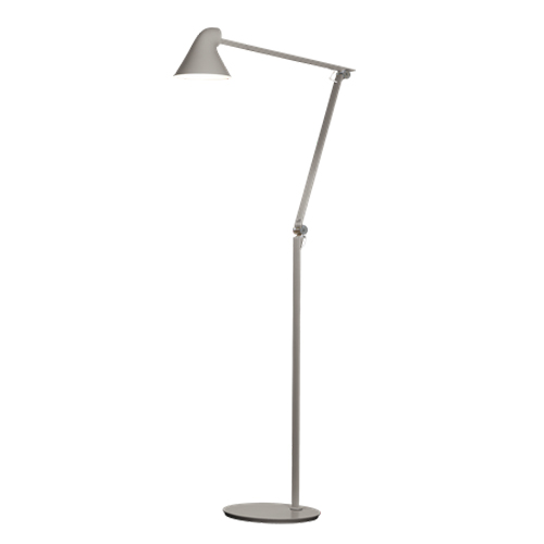 reputable site 88fd6 23139 LOUIS POULSEN floor lamp NJP (Light grey 3000K - Aluminum)