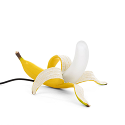 SELETTI lampe de table BANANA LAMP YELLOW