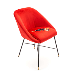 SELETTI chaise rembourrée TOILETPAPER PADDED CHAIR