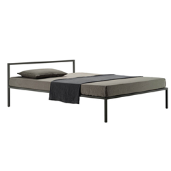 Materassi 160 X 180.Zanotta Double Bed Nyx 1706 For A Mattress Size 160 X 200 Cm