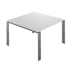 KARTELL table FOUR SOFT TOUCH  dim. 128x72x128