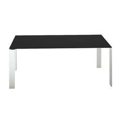 KARTELL table FOUR SOFT TOUCH  dim. 158x72x79