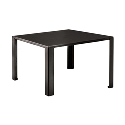 ZEUS table carré BIG IRONY TABLE