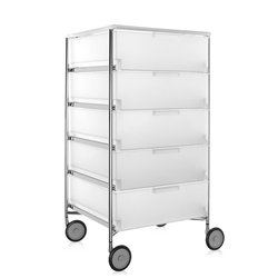 KARTELL cabinet with wheels and 5 drawers MOBIL