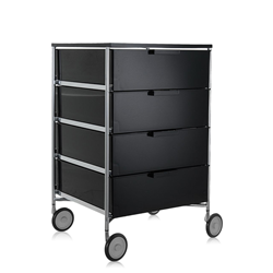 KARTELL cabinet with wheels and 4 drawers MOBIL