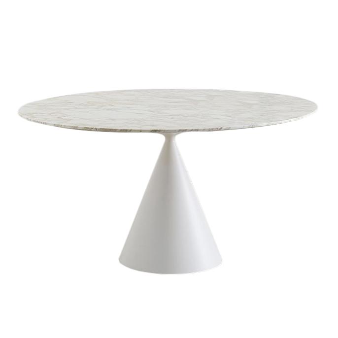 Desalto Marble Round Table Clay Ø 140