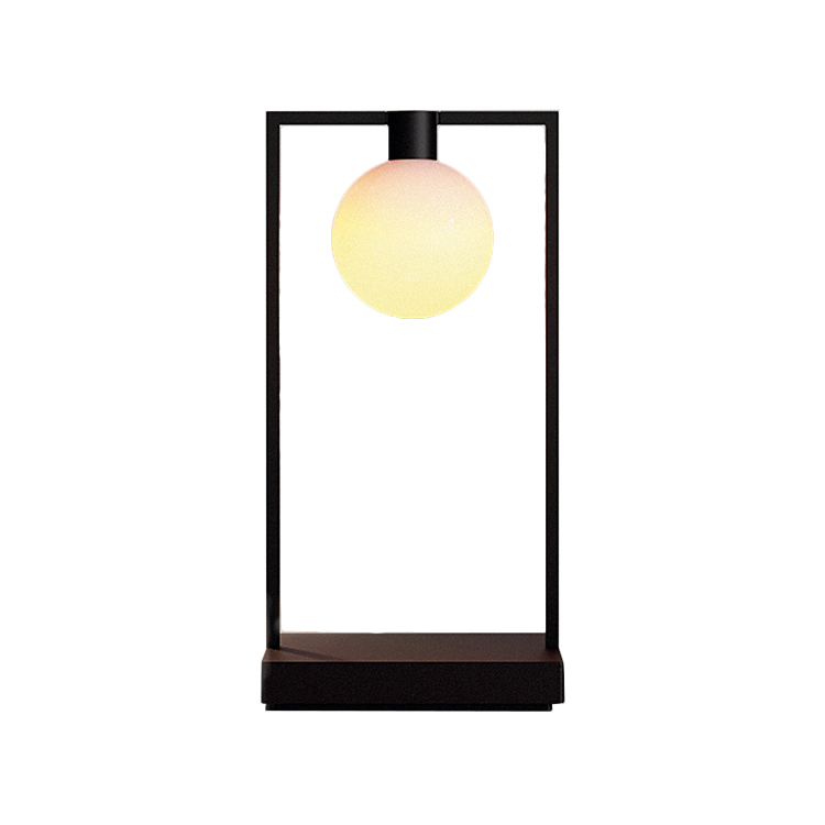ARTEMIDE table lamp CURIOSITY 36 (With sphere Aluminum)