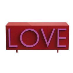 DRIADE sideboard cabinet LOVE MEDIUM