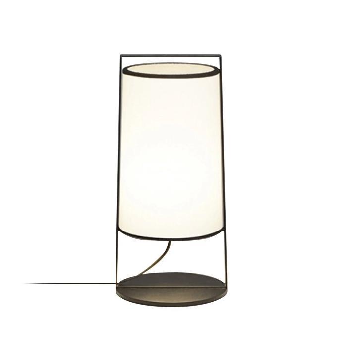 TOOY lampe de table MACAO 551.32 (Blanc - tissu et métal)