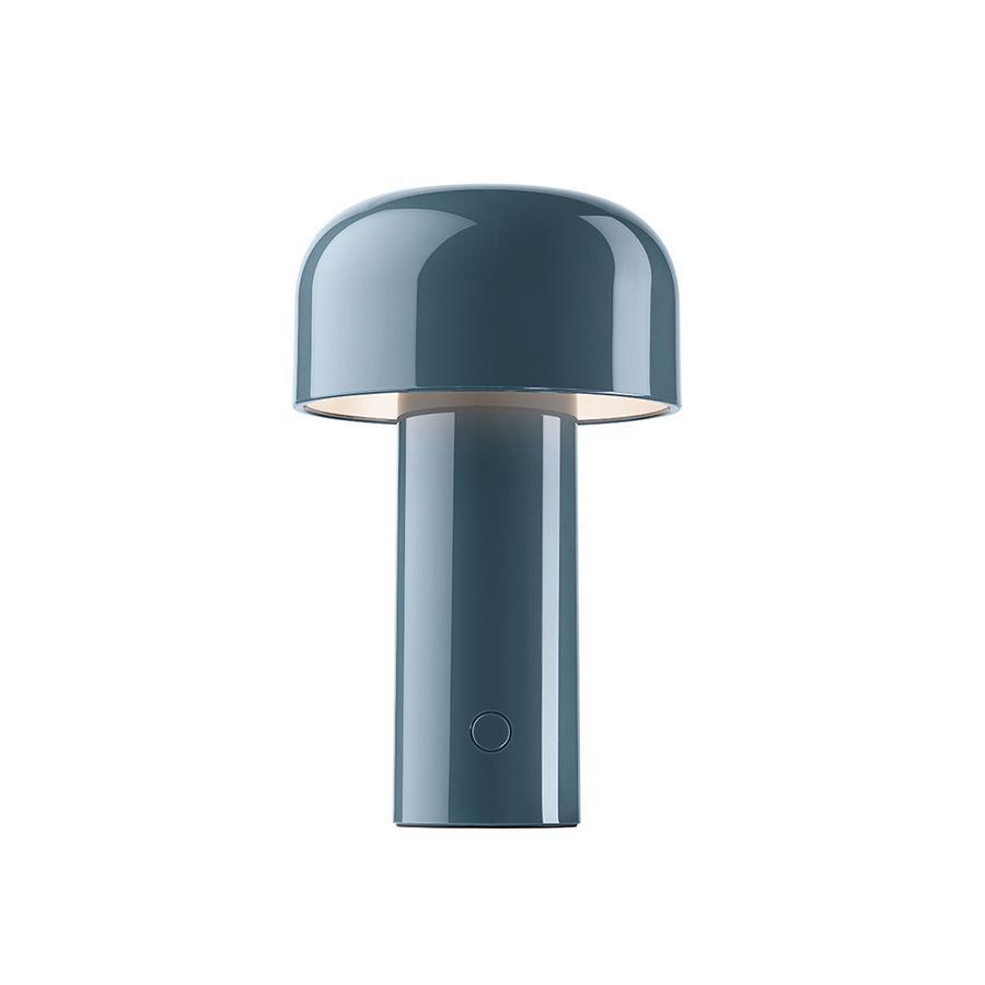 FLOS lampe de table sans fil rechargeable BELLHOP (Gris bleu - Polycarbonate)