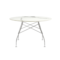 KARTELL round table GLOSSY Ø 118 cm