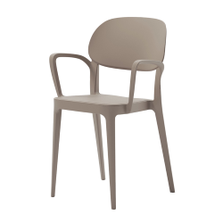 ALMA DESIGN set of 4 chairs with arms AMY