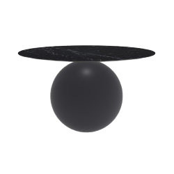 BONALDO round table CIRCUS Ø 140 cm matt anthracite grey base