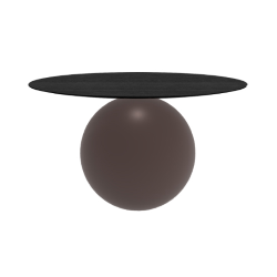 BONALDO round table CIRCUS Ø 140 cm matt brown base