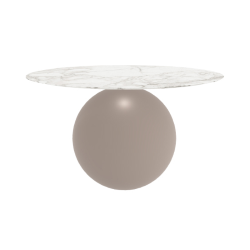 BONALDO round table CIRCUS Ø 140 cm matt dove base