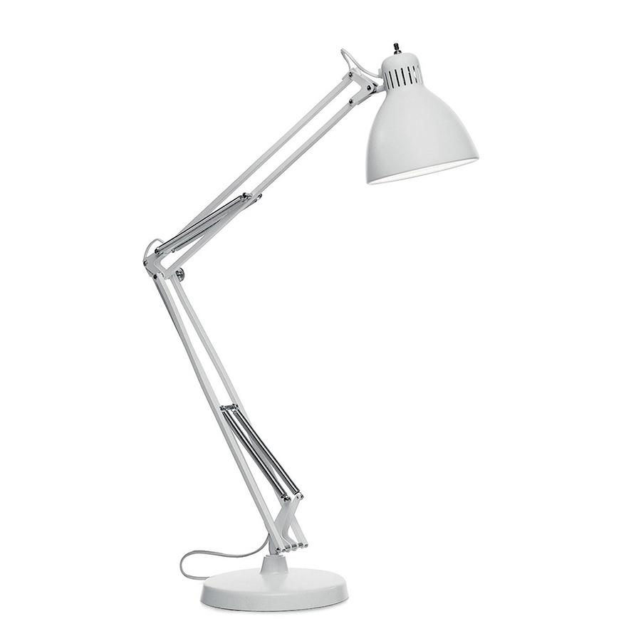 LEUCOS ITRE lampe de table JJ (Blanc Opaque - Aluminium)